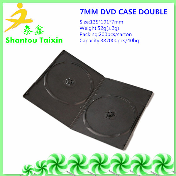 high quality pp dvd box for wholesale
