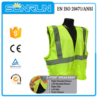 long sleeve reflective removable sleeves vest