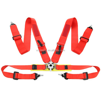 3 inch 4 points quick release safety belt , safety harness buckles , seat belts