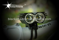 Solarstorm X2 high quality 1500 lumens cree led bicycle light