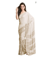 Plain White sarees / silk sarees wholesale price