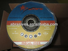 EN12413 Cutting wheel for INOX and Metal/European market