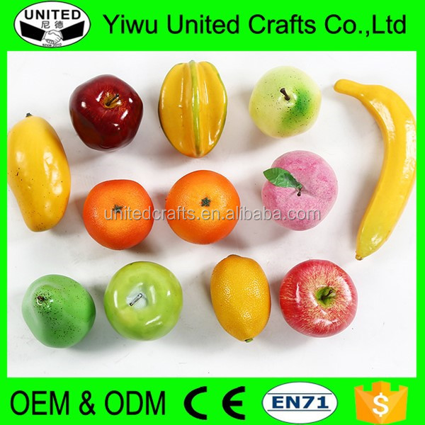 Wholesale Decoratives Artificial Fruit For New Year Home Decoration