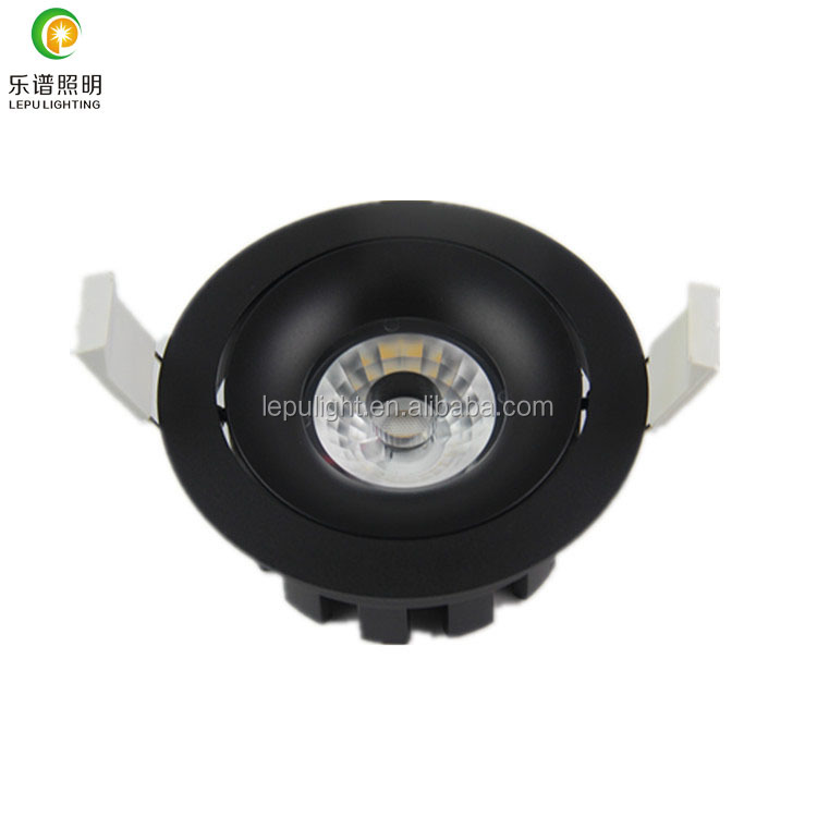 warm white 2700k 3000k recessed 8w 13w cob led downlight dimmable lens 83mm hole for sweden market
