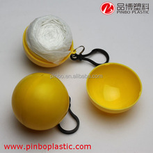 plastic raincoat in ball with transparent,waterproof raincoat fabric,cheap raincoat prices