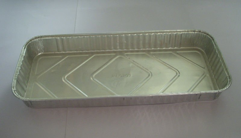 foil container for food for BBQ and airline catering