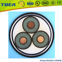 33kV XLPE Underground Armored Cable 3 Core 150mm Price