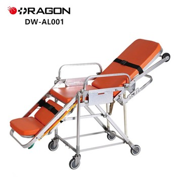 DW-AL001 Hot Sale Folding Aluminum Alloy cheap ambulance stretcher