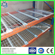 storage shelving wire mesh decking layer