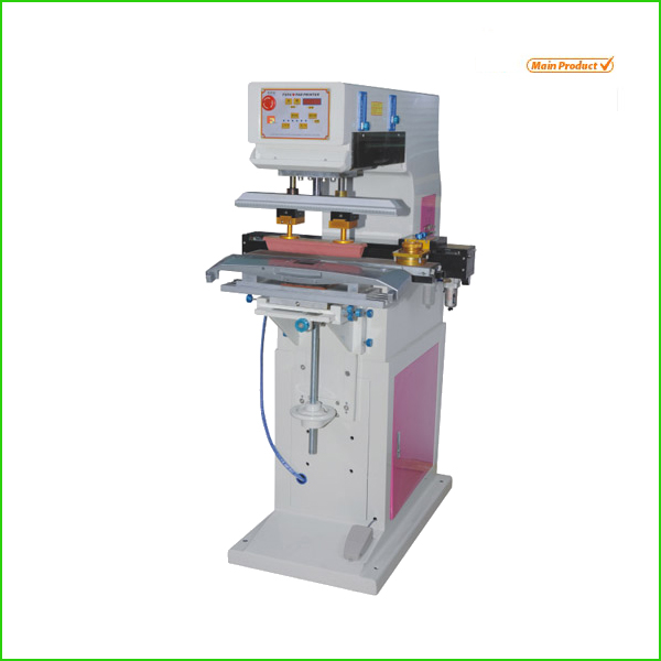 1 color tagless label printing tampon machine