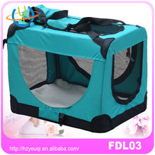Indoor & Outdoor Soft Folding Travel Pet Crate Kennel Dog Carrier