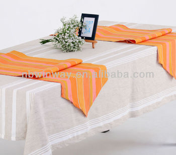 nature color table runner