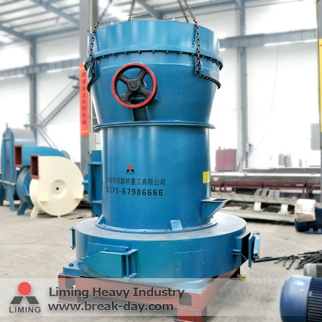 Cubic shaped desired products clinker Raymond grinding mill