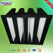 ABS Plastic Frame V Air Filter for Gas Turbines