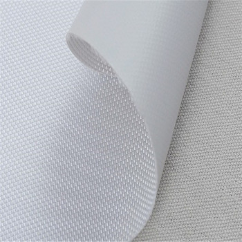 Recycled oxford white coating fabric