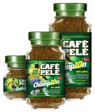 Cafe Pele Champion instant coffee