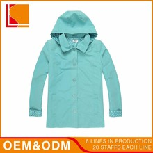 Half Size Plain Windbreaker Woman Winter Jacket Clothes
