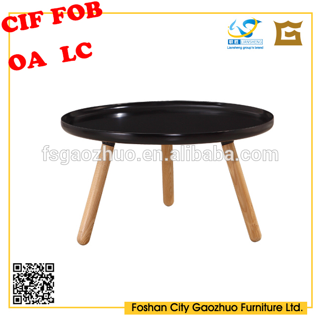 Replica wholesale classic modern plywood round CTW coffee table