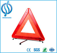 Car accessory Safety Warning Triangle with Emark Of Reflective signs