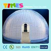 High quality inflatable clear dome tent