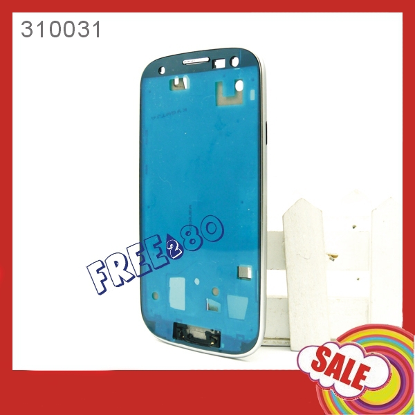 Spare Parts Housing Bezel Frame Middle Plate Replacement for Samsung Galaxy S3 i9300