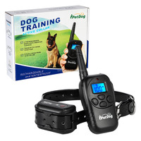 Dog Training Collar with 300yd Remote Dog Shock Collar Rechargeable E Collar for Small,Medium & Large Dogs