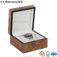 Factory Hight Quanlity Wood Square Watch