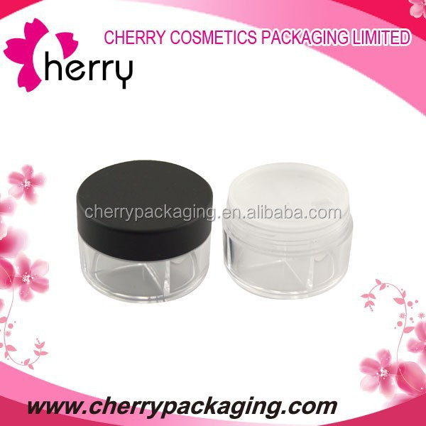 090 plastic cosmetic cream jar