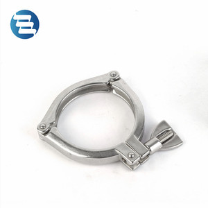 3pcs13MHHM-3P Two Holes Stainless Steel Pipe Clamp