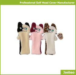 Cute Animal Head Cover Sets For Golf Club Head Cover