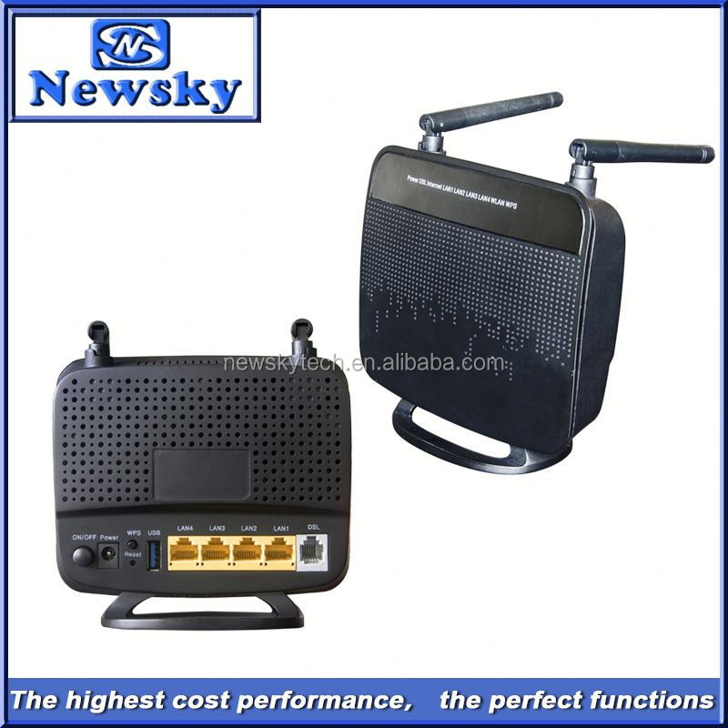OEM manufacturer 300Mbps wireless adsl2+modem