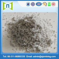Heat resistant mineral wool fiber for building material