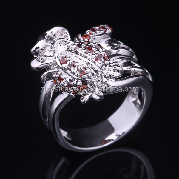 professional jewelry factory wholesale diamond ocean inspired engagement ring