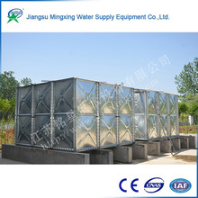 Customized design No-Welding modular panels water storage tanks and Integrated water tank