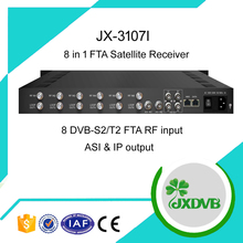 DVB-S2x HD IP ASI Satellite TV Receiver