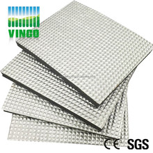 10mm thick aluminum foil Rug Pads,fireproof,waterproof and acoustics materials
