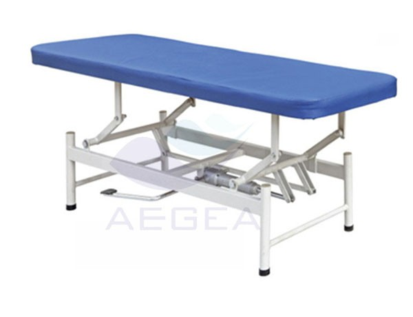 AG-ECC08 portable one section sick care hospital medical examining table for sale
