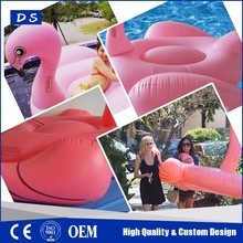 Direct manufacturers custom giant flamingo inflatable float