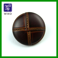 High quality football abs plastic button with shank