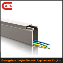 solid electric pvc cable channel