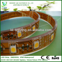 High quality smd 5050 ip69 led strip