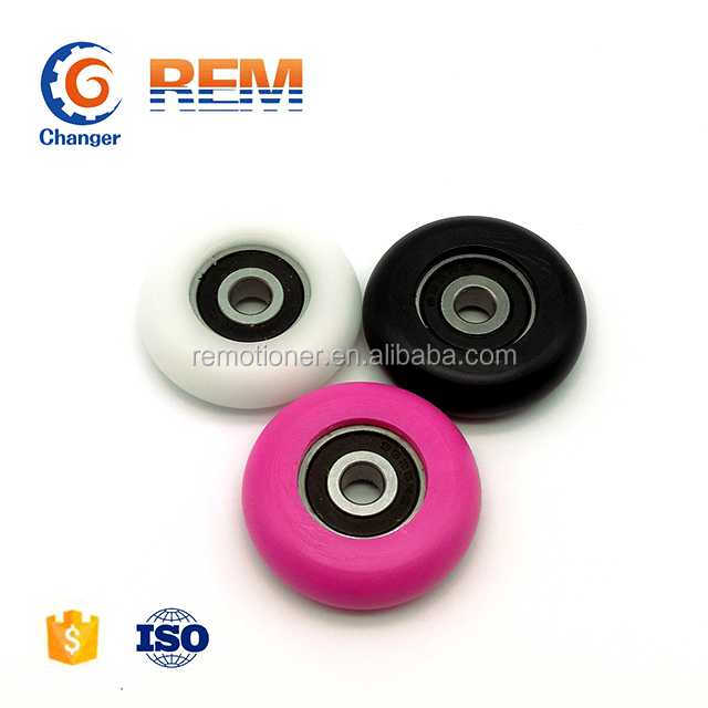 rubber coated ball bearing 608 inside 8x29x10mm for window or door