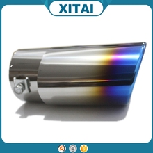 High quality blue stainless steel factory wholesale exhaust muffler