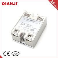 QIANJI Electrical Equipment Supplies 220V 16DA Single Phase Solid State Relay