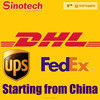 International courier services DHL,UPS,FEDEX Express China to Italy
