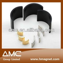 custom made neodymium arc magnets