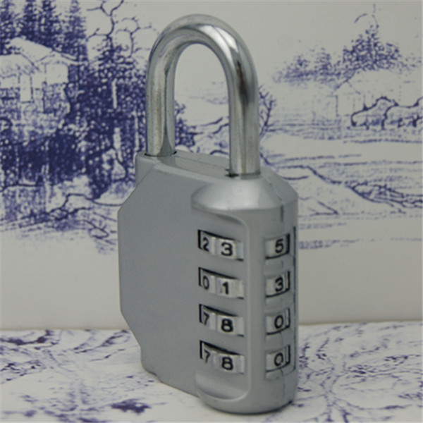 Different color 4 Digit Combination Luggage Code Lock Password Padlock Suitcase Lock Cabinet /bike/bicycle/door lock Padlock