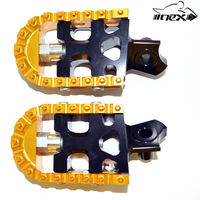 NEX ALUMINUM ADJUSTABLE DIRT BIKE FOOT PEGS FOR SUZUKI