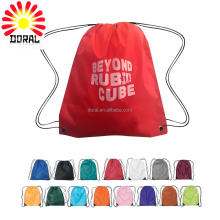 High Quality New Recycle Drawstring Polyester Cotton Shoe Bag