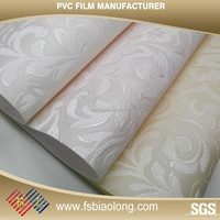 Furniture Decoration Self Adhesive Wallpaper PVC Film Waterproof Plastic Sheet Pvc Rigid Film 0.5Mm Thick